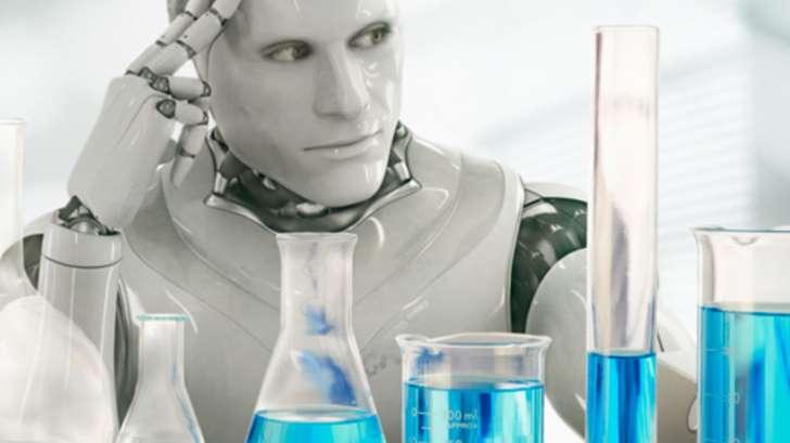 机器人正在学习进行自己的科学实验