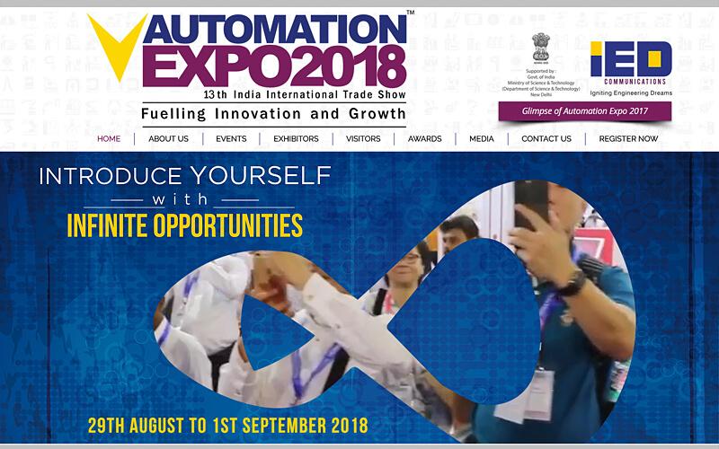 印度孟买自动化控制展 2018